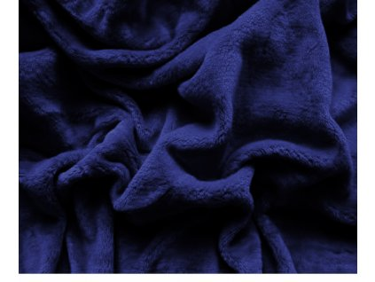 prostěradlo mikroplyš tmavě modrá