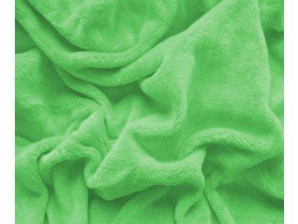 prostěradlo mikroplyš světle zelená