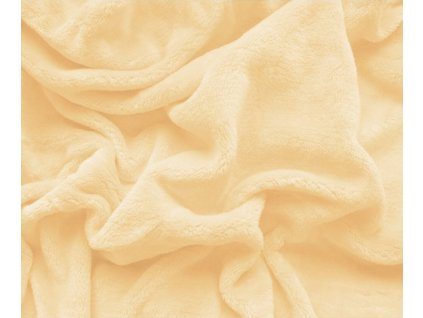prostěradlo mikroplyš vanilka