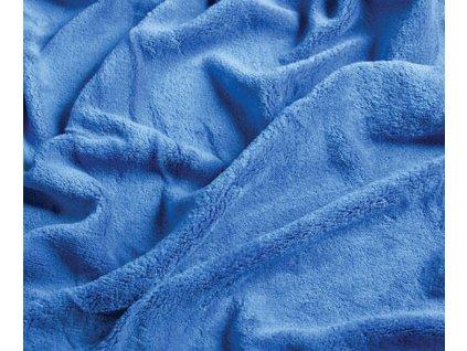 prostěradlo mikroplyš královská modrá