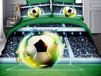 povlečení 3D fotbalový míč