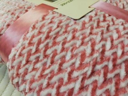 deka mikrofibra růžová