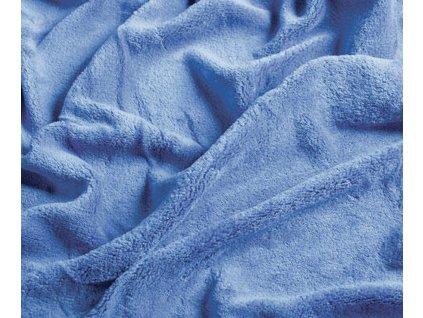 deka mikrovlákno super soft modrá