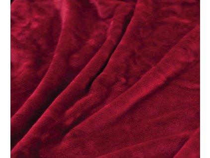 deka červeno vínová