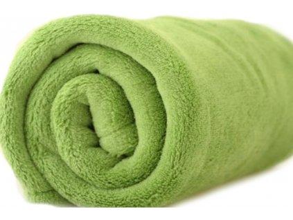 deka mikrovlákno zářivě zelená