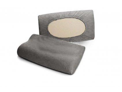 návlek na polštář mako jersey šedá