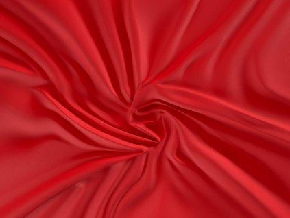 prostěradlo saténové červené