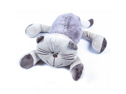 plyšová kočka ležící
