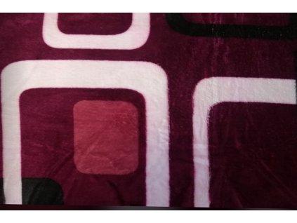 deka mikrovlákno vínová okna