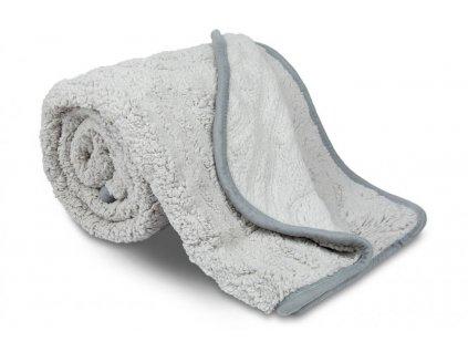 deka ovečka copánky šedá