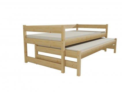 Dětská postel s výsuvnou přistýlkou DPV 003