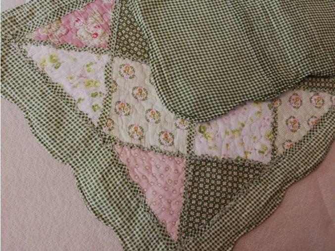 polštářek provence zelený