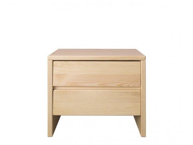 Noční stolek NS 122 borovice