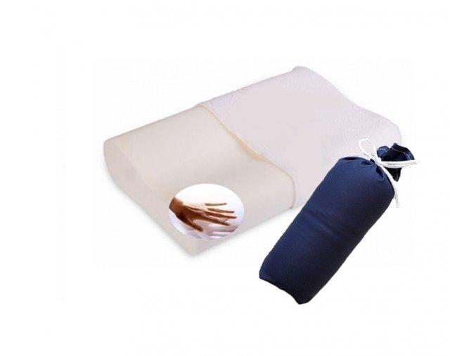 cestovní polštář Visco z paměťové pěny