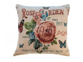 povlak na polštář růže garden