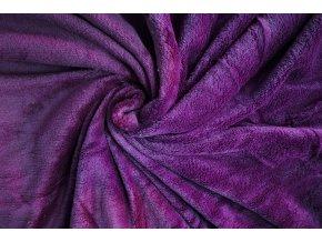 deka mikrovlákno redviolet