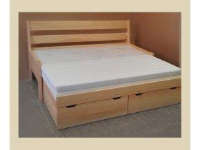 rozkládací postel double 1