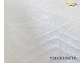 Potah na matraci Charlotte úpletový z mikrovlákna