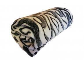 deka mikrovlákno zebra