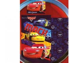 Povlečení do postýlky bavlna Disney Cars 140×90, 55x40cm