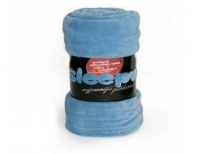 deka mikrovlákno sleepwell modrá 150x200cm