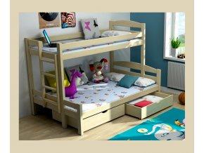patrová postel rozšířené lůžko typ 1