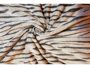 deka mikrovlákno estra jemná vlna šedá