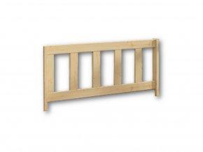 dětská zábrana na postel typ B masiv borovice
