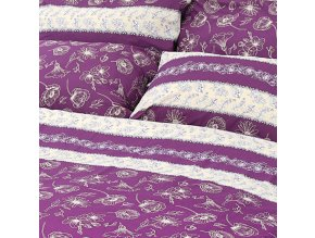 povlečení stanex bavlna purple