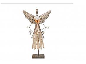anděl kov s hvězdou