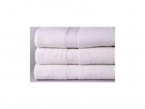hotelový ručník levný bilý