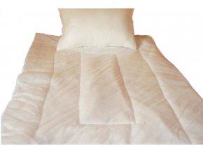 souprava přikrývka polštář z netkané textílie