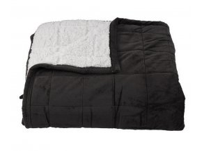 deka sandra tmavě šedá