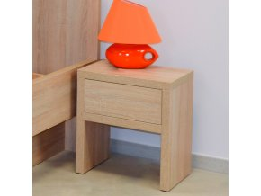 noční stolek NS 1 ahorn lamino