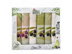 bavlněné utěrky stanex olivy