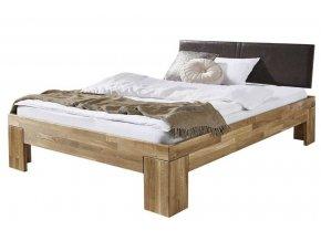 masivní postel Iva