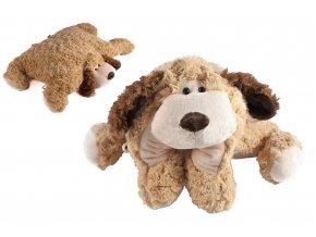 polštář pes knoflík velký