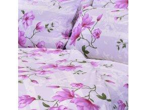 ložní povlečení lilie fialové stanex