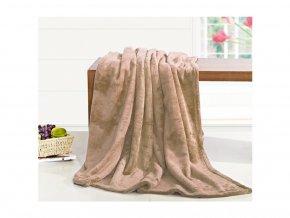 deka mikrovlákno béžová