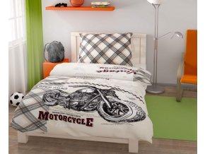 povlečení bavlna speedway motorka