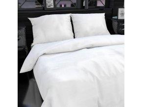 Hotelové povlečení ATLAS bílé hladké