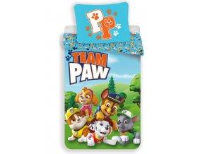 povlečení tlapková patrola team paw