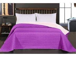 oboustranný přehoz purple