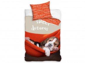 povlečení štěňátko sladké sny