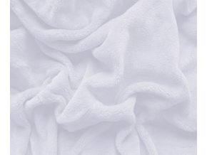 prostěradlo mikroplyš bílá
