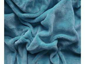 prostěradlo mikroplyš modrá II