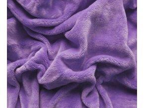 prostěradlo mikroplyš fialová