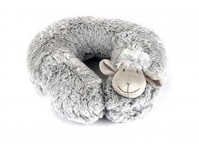 Ovečka podkova za krk šedá