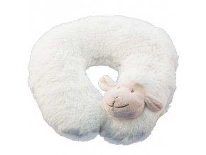 Ovečka podkova za krk bílá