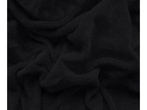 prostěradlo mikroplyš černé